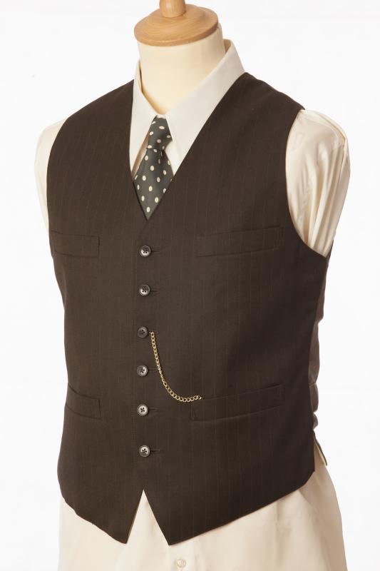 Brown waist coat