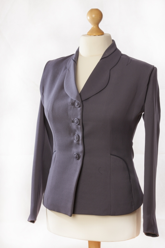 Ladies blue 1940s suit