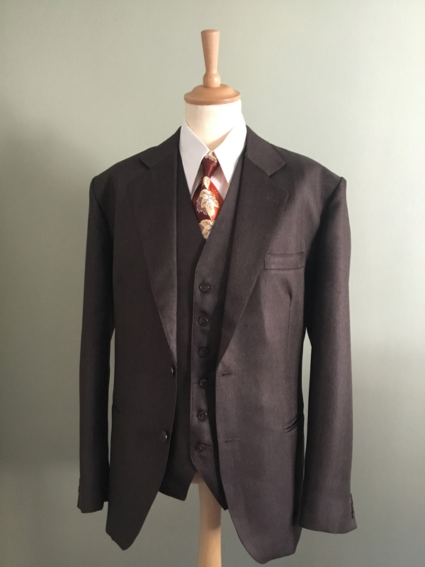 1940s Mens Suits | Gangster, Mobster, Zoot Suits 30/40s Suit £394.00 AT vintagedancer.com
